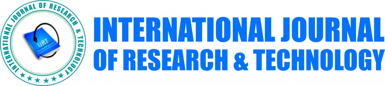 IJRT(International Journal of Research & Technology)